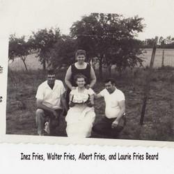 Laura Inez <I>Bragg</I> Fries