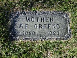 Almira Elizabeth <I>Pierce/Edwards</I> Greeno