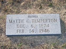 Mattie C. <I>Mangham</I> Templeton