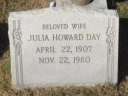 Julia <I>Howard</I> Day