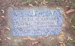 Louise M Warner