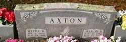 Marion Bernard Axton