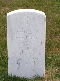 Samuel W Hopkins
