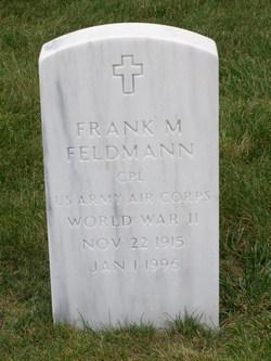 Frank M Feldmann