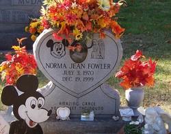Norma Jean <I>Frye</I> Fowler