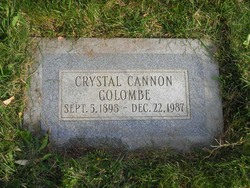 Crystal Cannon Colombe