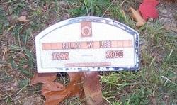 Ellis Wilbert Lee