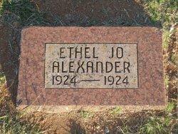 Ethel Jo Alexander