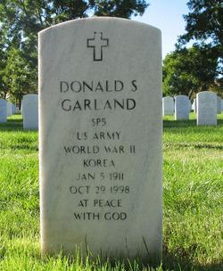 Donald S Garland