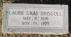 Laurie <I>Gray</I> Driscoll