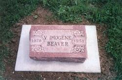 Violet Imogene <I>Chasteen</I> Beaver