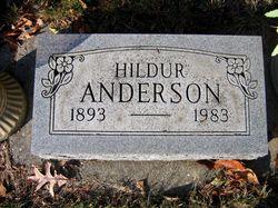 Hildur Anderson