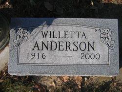 Willetta Anderson