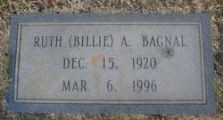 """Ruth """"Billie"""" <I>Alexander</I> Bagnal"""