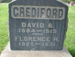 Dr David Benjamin Crediford