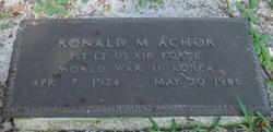 Ronald M Achor