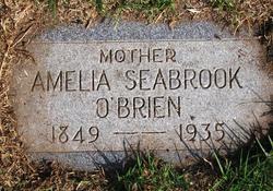 Amelia Jane <I>Seabrook</I> O'Brien