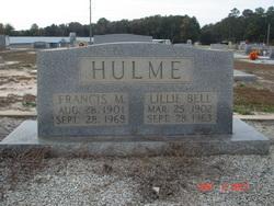 Frances M Hulme
