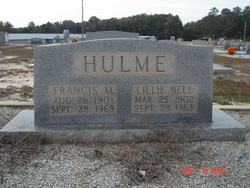 Lillie Bell Hulme