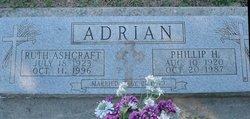 Ruth <I>Ashcraft</I> Adrian