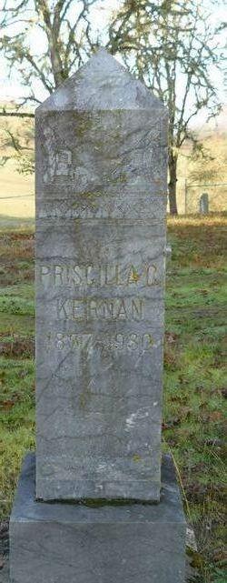 Priscilla C <I>Thornton</I> Kernan