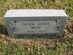 Thomas Albert Webb, Sr