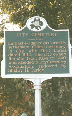 Corinth City Cemetery