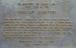 Chief Lot Cemetery