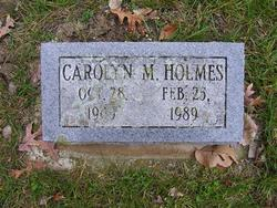"""Carolyn Margaret """"Carrie"""" <I>Persons</I> Holmes"""
