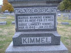 Maj Manning Marius Kimmel