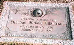 William Donald Christian