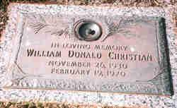William Donald Christian