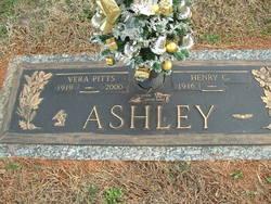Vera <I>Pitts</I> Ashley