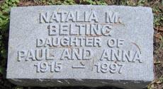 Natalia Maree Belting