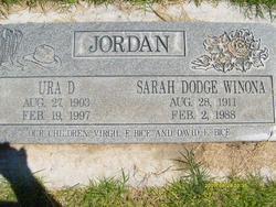 Sarah Dodge <I>Winona</I> Jordan