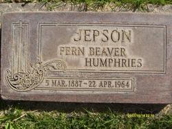 Fern Beaver <I>Humphreys</I> Jepson