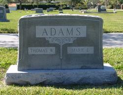 "Thomas W. ""T.W."" Adams"