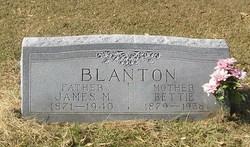 Bettie <I>Hicks</I> Blanton