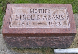Ethel Belle <I>LePell</I> Adams