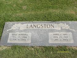 Francis Ivan Langston