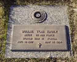 Willie Tom Faulk