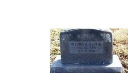 Thelma B. <I>Garner</I> Blythe