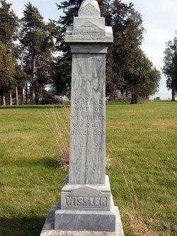 Clara Belle <I>Roseman</I> Wissler