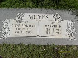 Marvin Bowman Moyes