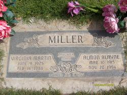 Virginia <I>Martin</I> Miller