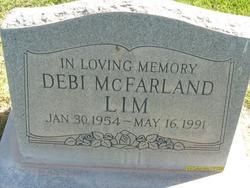 "Debra ""Debi"" <I>McFarland</I> Lim"