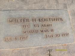 Walter H Lortsher