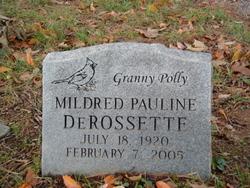 "Mildred Pauline ""Polly"" <I>Ault</I> DeRossette"