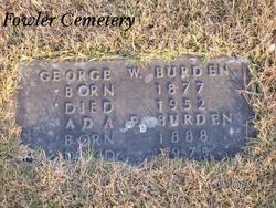 George Washington Burden