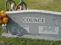 Alma Lois <I>Frederick</I> Counce